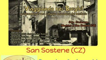 """""""Viaggiando nei borghi"""", incontro a San Sostene il 13 gennaio"""